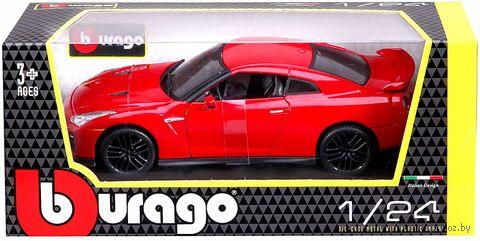 """Модель машины """"Bburago. Nissan GT-R 2017"""" (масштаб: 1/24) — фото, картинка"""