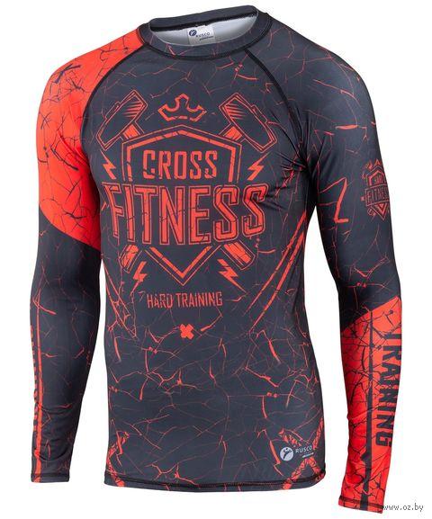 """Рашгард для MMA """"Cross Fitness"""" (M) — фото, картинка"""