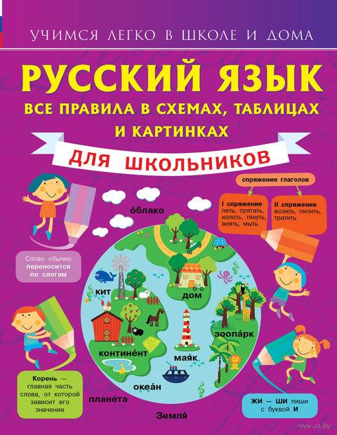 Русский язык. Все правила в схемах, таблицах и картинках. Сергей Матвеев