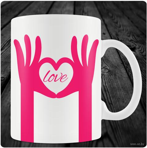 "Кружка ""День святого Валентина"" (арт. 15) — фото, картинка"