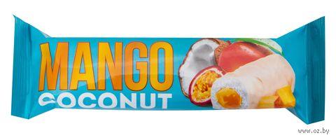 """Батончик кокосовый """"Манго"""" (40 г) — фото, картинка"""