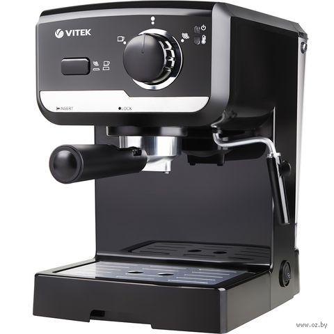Кофеварка эспрессо Vitek VT-1502 BK — фото, картинка