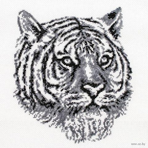 "Вышивка крестом ""Тигр"" (205х230 мм) — фото, картинка"