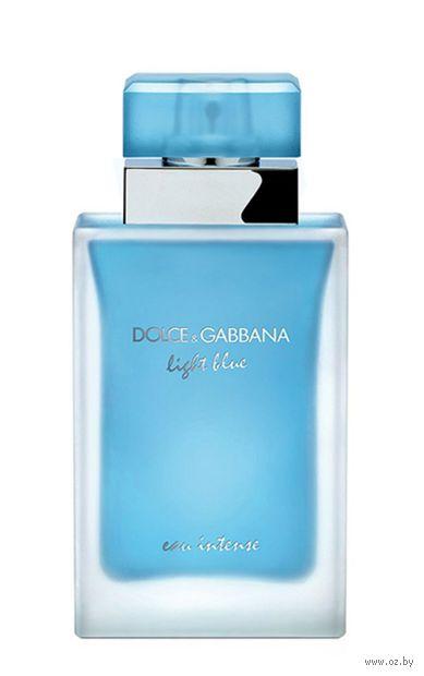 """Парфюмерная вода для женщин """"Light Blue Eau Intense"""" (25 мл) — фото, картинка"""