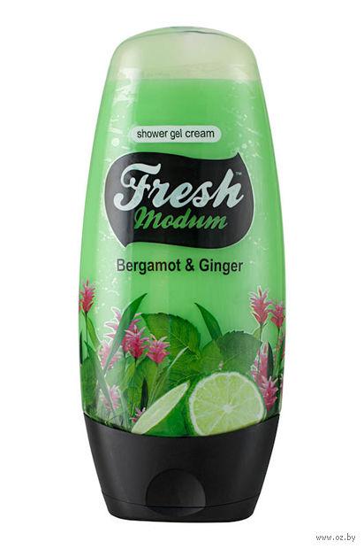 """Крем-гель для душа """"Bergamot + Ginger"""" (250 мл) — фото, картинка"""