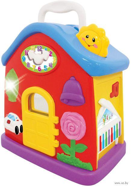 """Музыкальная игрушка """"Домик"""" (со световыми эффектами) — фото, картинка"""