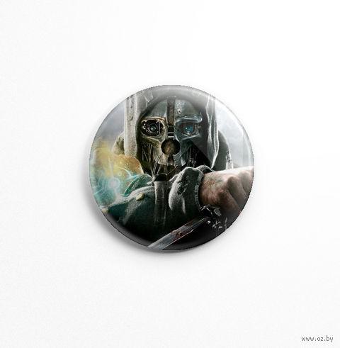 """Значок маленький """"Dishonored"""" (арт. 717) — фото, картинка"""