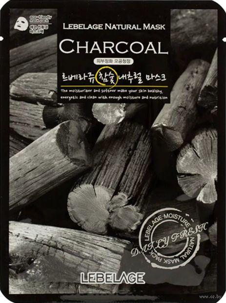 """Тканевая маска для лица """"С экстрактом древесного угля"""" (23 мл) — фото, картинка"""