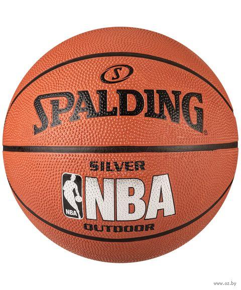 Мяч баскетбольный NBA Silver №6 — фото, картинка