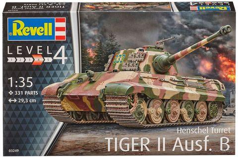 "Сборная модель ""Немецкий тяжелый танк Tiger II Ausf. B"" (масштаб: 1/35) — фото, картинка"