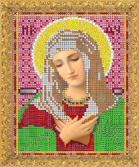 """Вышивка бисером """"Пресвятая Богородица. Умиление"""" (158х118 мм)"""