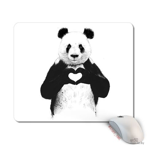 """Коврик для мыши большой """"Панда"""" (арт. 512)"""