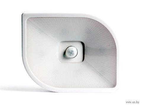 Светодиодный фонарь с датчиком движения и света 8 LED Smartbuy 4AAA (белый)