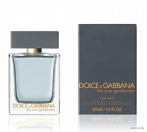 "Туалетная вода для мужчин Dolce & Gabbana ""The One Gentleman"" (50 мл)"