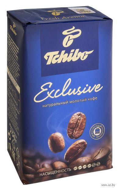 "Кофе молотый ""Tchibo. Exclusive"" (250 г) — фото, картинка"
