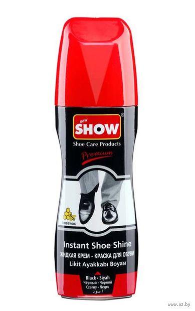 "Крем-краска для обуви ""Premium"" (75 мл; черная) — фото, картинка"