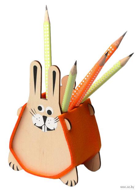 """Сборная деревянная игрушка """"Заяц"""" — фото, картинка"""