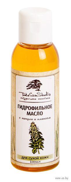"""Масло для снятия макияжа """"С пачули и илангом. Гидрофильное"""" (100 мл) — фото, картинка"""