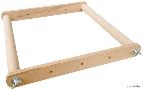 Пяльцы-рамка с крепками (30х30 см) — фото, картинка