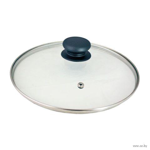 Крышка стеклянная с пароотводом (22 см) — фото, картинка