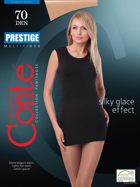 "Колготки женские классические ""Conte. Prestige 70"" — фото, картинка"