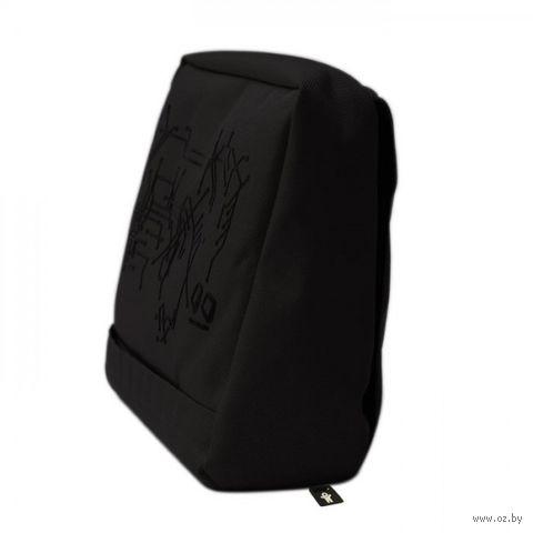 """Подушка-подставка с карманом для планшета """"Hitech"""" (черная)"""