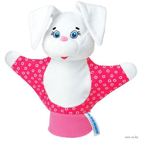 """Мягкая игрушка """"Кукла на руку. Зайка"""""""