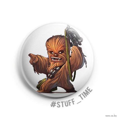"Значок маленький ""Star Wars. Чубакка"" (арт. 623) — фото, картинка"