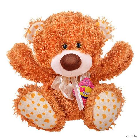 """Мягкая игрушка """"Медвежонок Ник"""" (34 см; рыжий) — фото, картинка"""