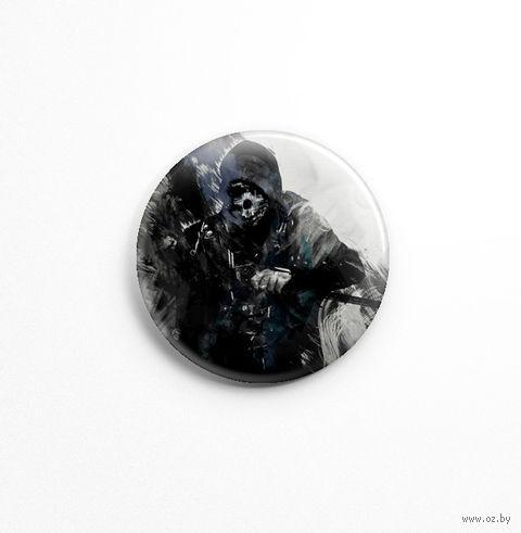 """Значок маленький """"Dishonored"""" (арт. 731) — фото, картинка"""