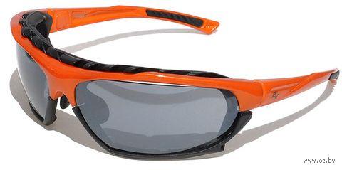 """Очки солнцезащитные """"SB-12233"""" (оранжевые) — фото, картинка"""