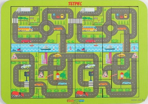 "Развивающая игрушка ""Карта города"" — фото, картинка"