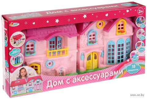 "Дом для кукол ""С аксессуарами"" (арт. B796960-R) — фото, картинка"