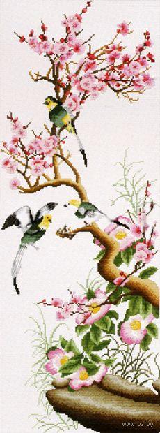 "Вышивка крестом ""Цветущая сакура"""