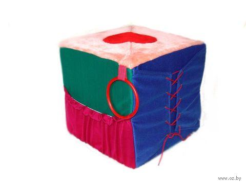 "Мягкая игрушка ""Кубик-пуфик"" (30 см) — фото, картинка"
