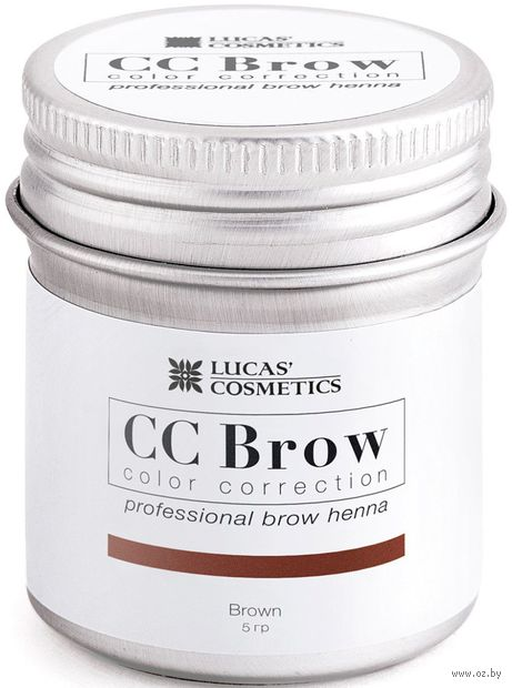 "Хна для бровей ""CC Brow. Баночка"" тон: brown — фото, картинка"