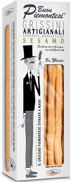 """Палочки хлебные """"Buon Piemontesi. С кунжутом"""" (180 г) — фото, картинка"""