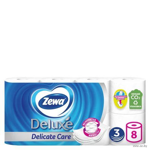 Туалетная бумага Zewa Deluxe (8 рулонов)