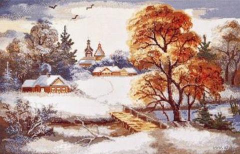 """Вышивка крестом """"Первый снег"""""""
