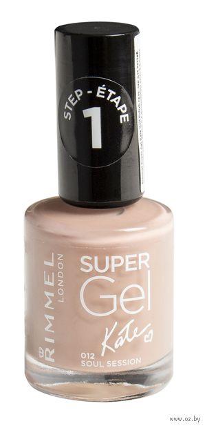 """Гель-лак для ногтей """"Super Gel"""" (тон: 012)"""