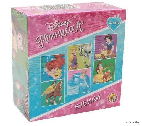 "Кубики ""Принцессы"" (4 шт) — фото, картинка"