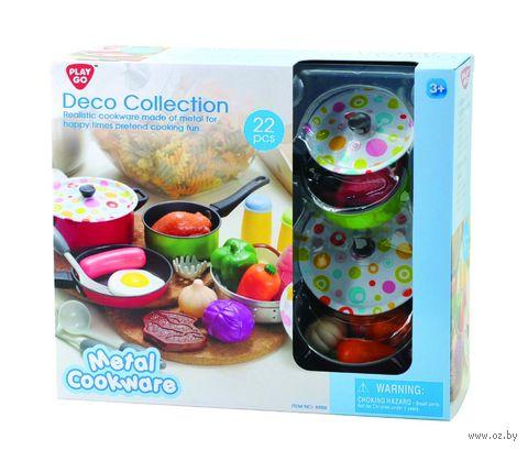 Набор детской посуды (арт. 6988) — фото, картинка