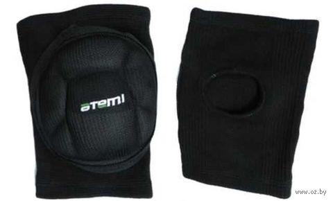 Наколенники волейбольные AKP-01 (S; чёрные) — фото, картинка