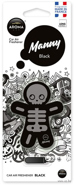 "Ароматизатор ""Manny"" (black) — фото, картинка"