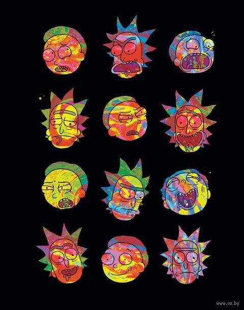 "Ежедневник недатированный ""Rick and Morty"" (А5) — фото, картинка"