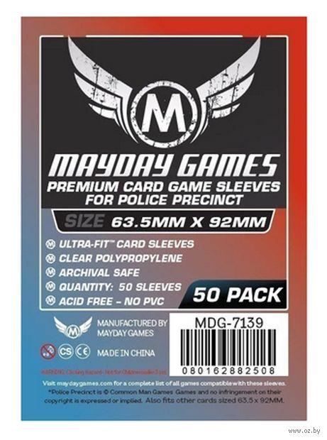 """Протекторы """"Mayday"""" (63,5х92 мм; 50 шт.) — фото, картинка"""