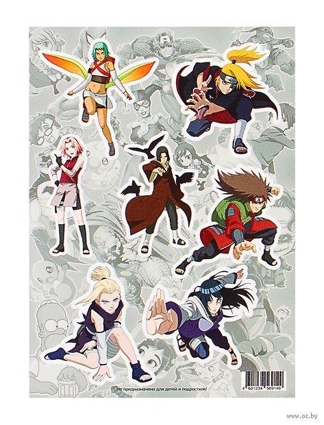 "Набор виниловых наклеек ""Naruto №1"" — фото, картинка"