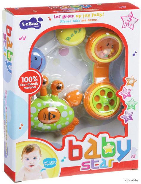 "Набор погремушек ""Baby Star"" (3 шт; арт. Н54205) — фото, картинка"