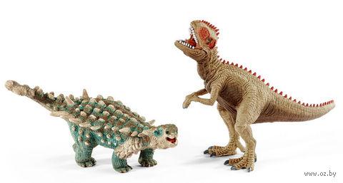"""Набор фигурок """"Сайхания и Гиганотозавр"""" — фото, картинка"""