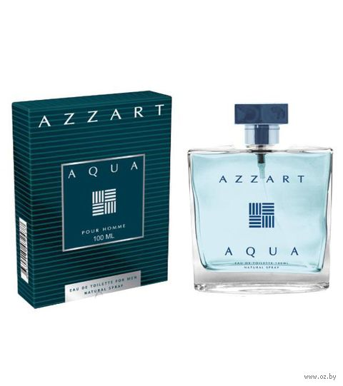 """Туалетная вода для мужчин """"Azzart Aqua"""" (100 мл) — фото, картинка"""